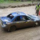 Zanesljivi zmagovalec divizije 1, Benedik Dušan v svoji Subaru imprezzi 2.0T