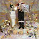 mitja in njegove trofeje